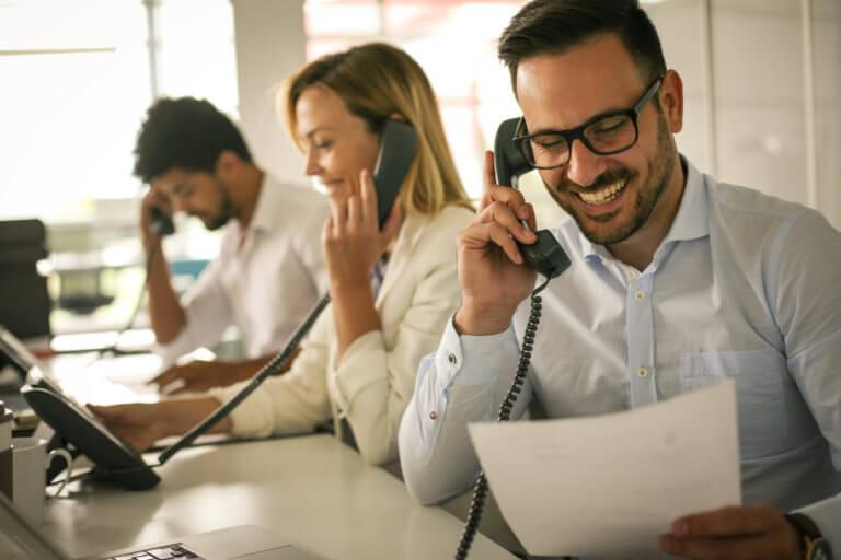 Prodoscore seamless integration with VoIP telephony system via API to measure employee productivity
