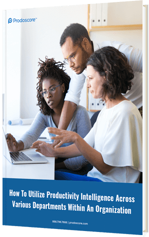 How To Utilize Productivity Intelligence Across Various Departments Within An Organization eBook