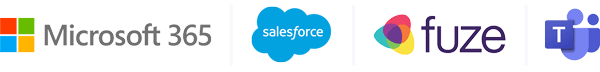 Microsoft 365 SalesForce Fuze Teams Integration