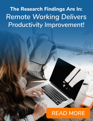 The Research Findings are In: Remote Working Delivers Productivity Improvement
